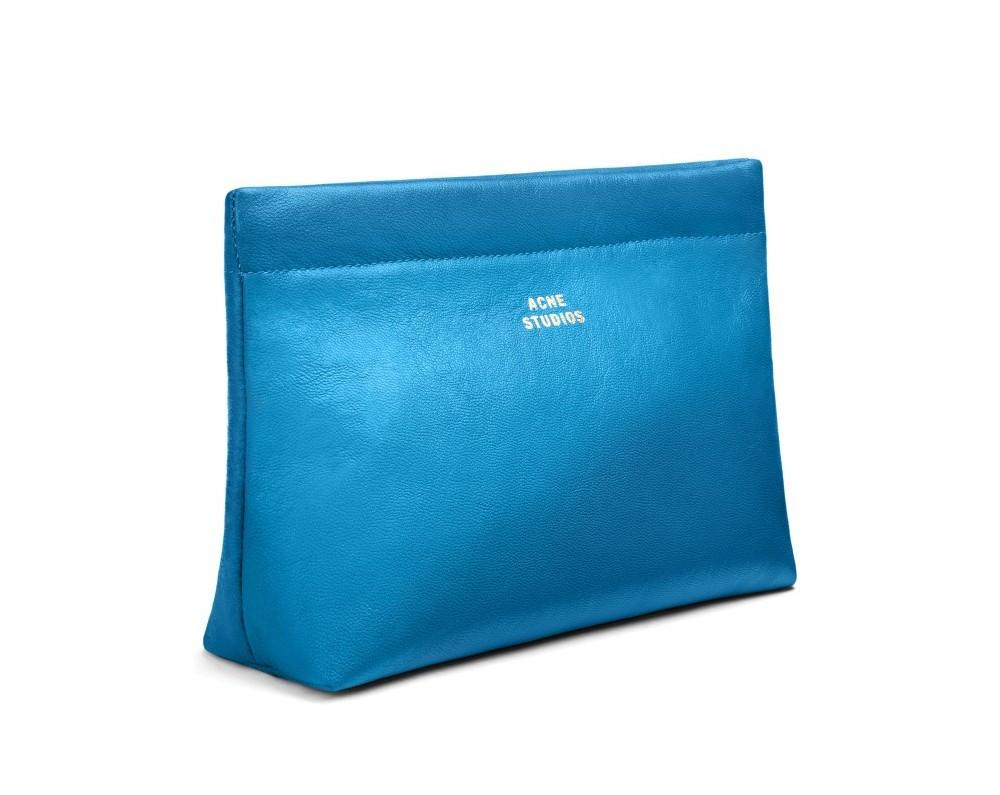 pochete acne studio blue cadeau femme saint valentin