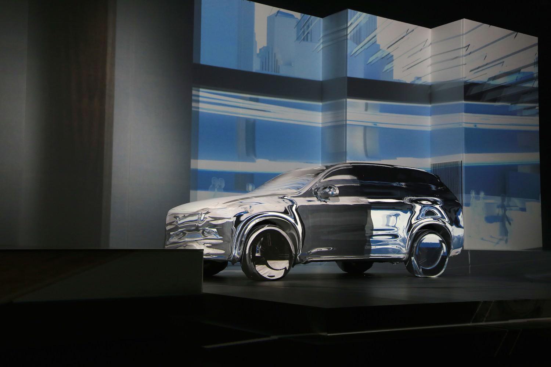 Nouveau Volvo XC90 2014 Stockholm présentation scénographie
