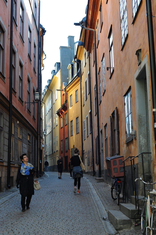 lancement VOLVO XC90 2014 Stockholm petite rue