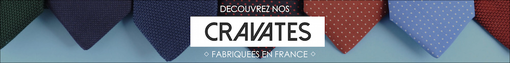 cravate soie homme made in france