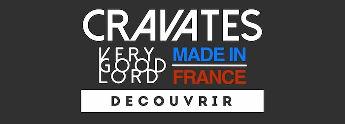cravate soie made in france