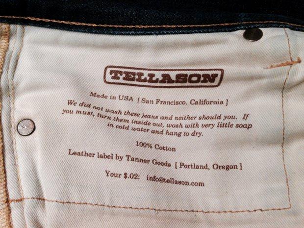 ne pas laver son jean