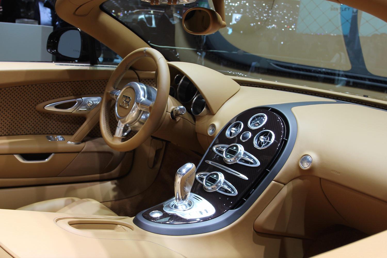 bugatti veyron intérieur
