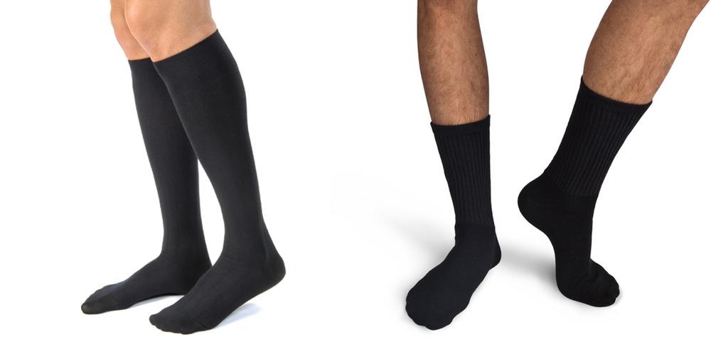 mi bas ou chaussettes