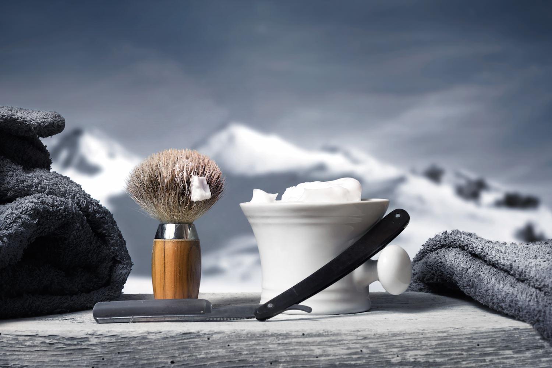 savon a barbe rasoir coupe chou