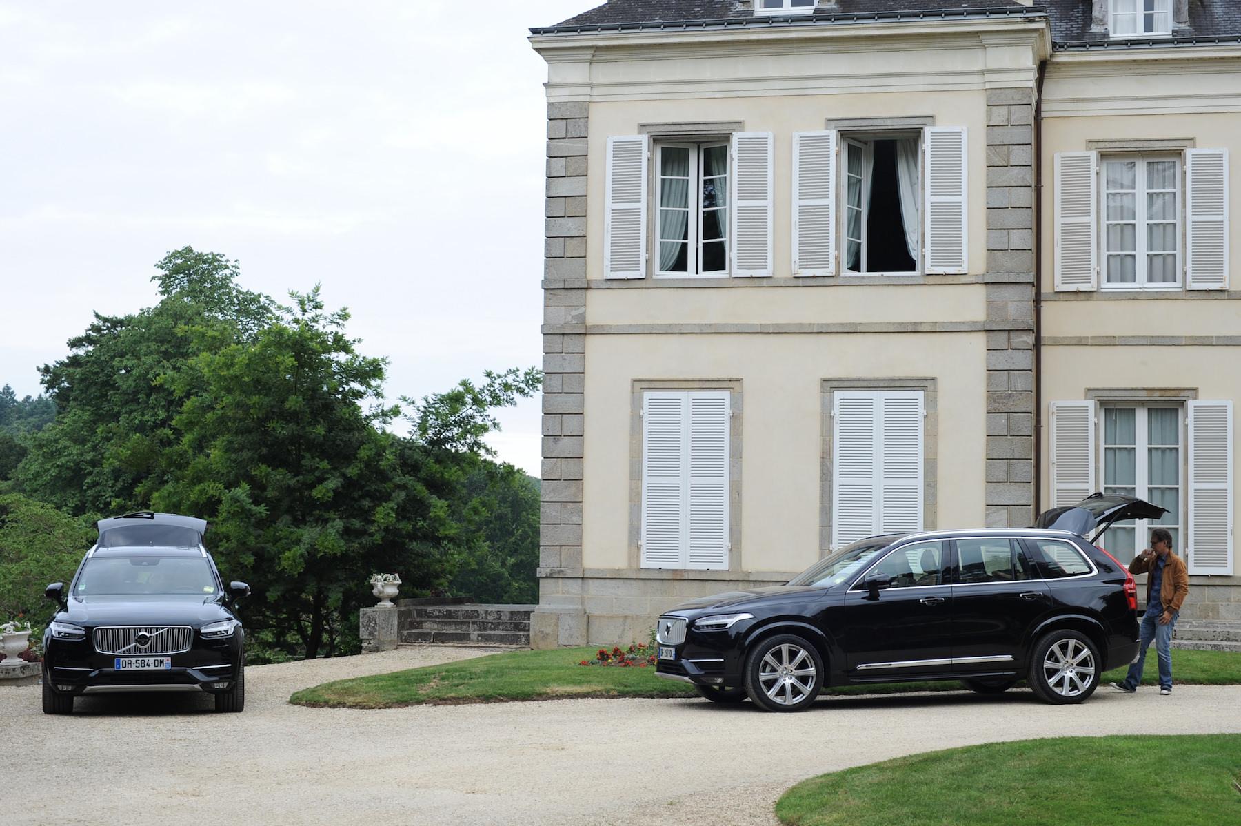 Nouveau volvo XC 90 2015 extérieur relais chateau