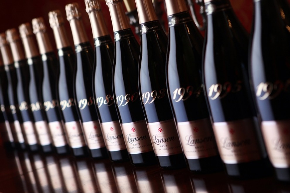 lanson bouteille champagne