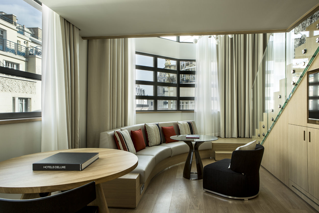 hotel cinq codet Junior Suite Duplex