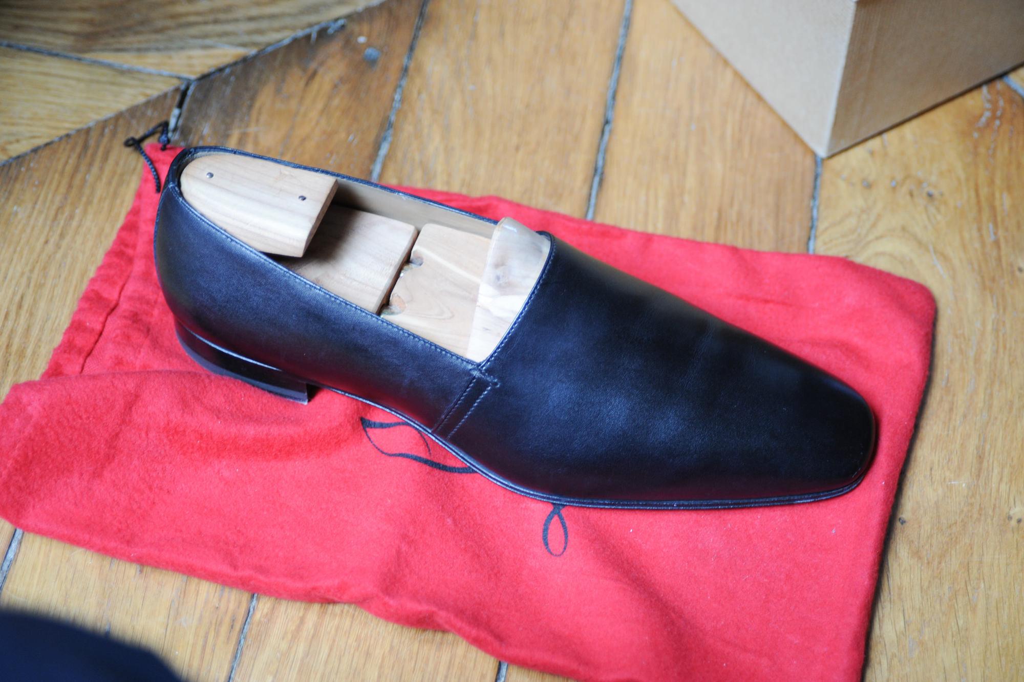 chaussure mocassins louboutin homme test et avis. Black Bedroom Furniture Sets. Home Design Ideas