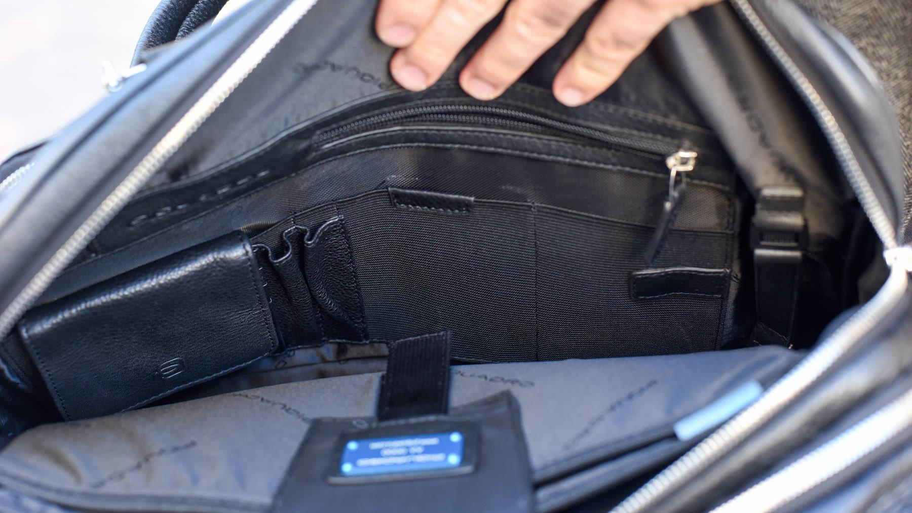 poches intérieur sac