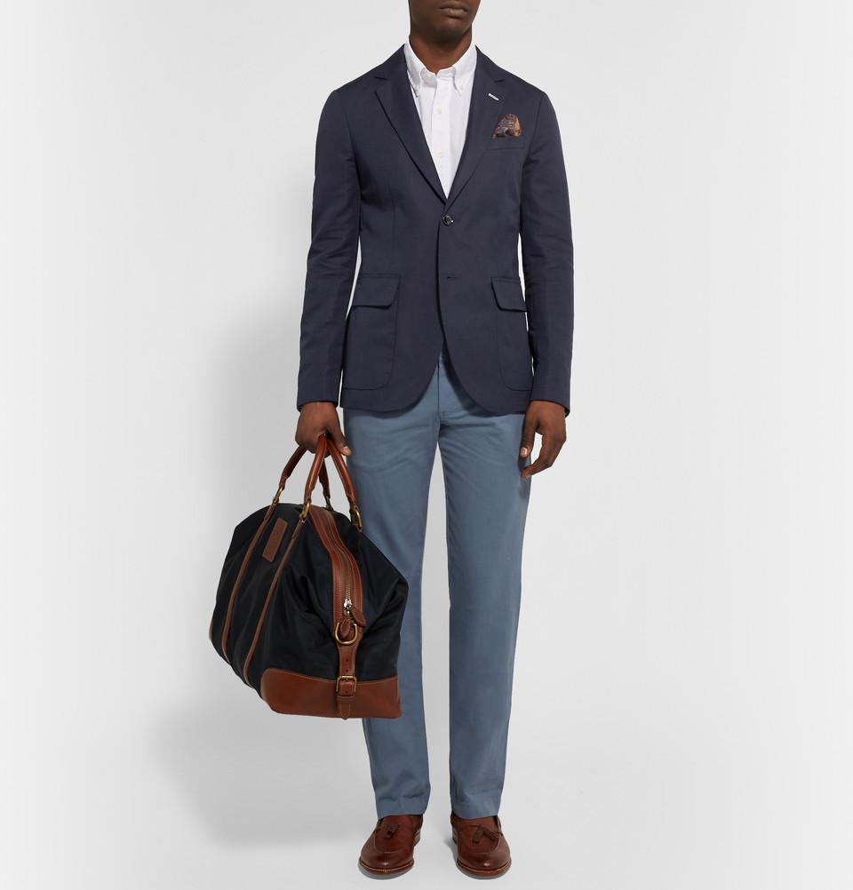 Choisir et porter un blazer pour homme guide complet - Que porter avec un pantalon bleu marine ...