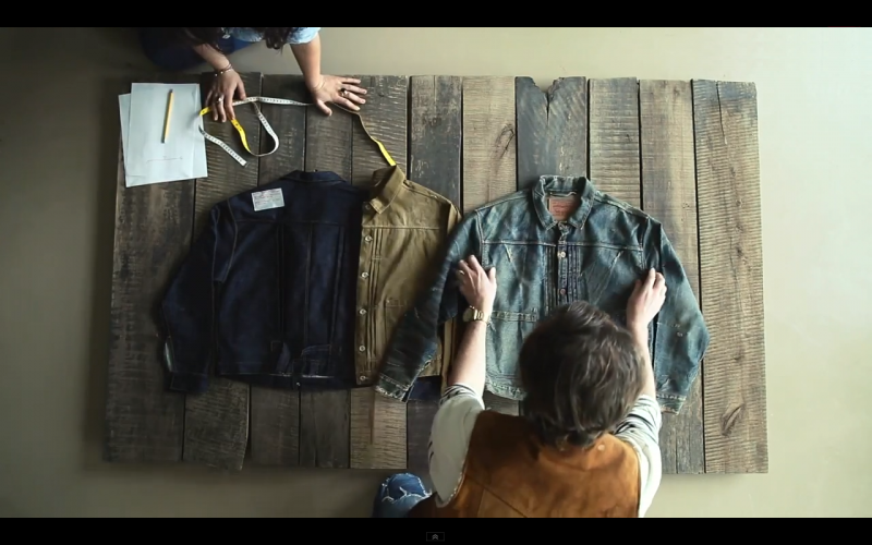 Levi's « Behind the Brand: Levi's Vintage Clothing »