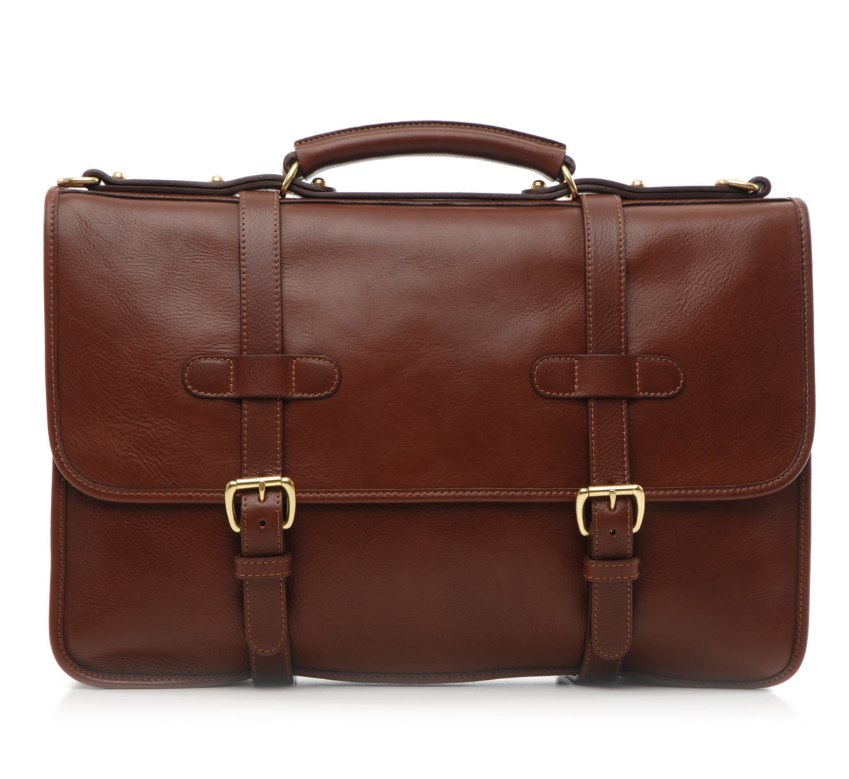 Lotuff English Briefcase Chestnut