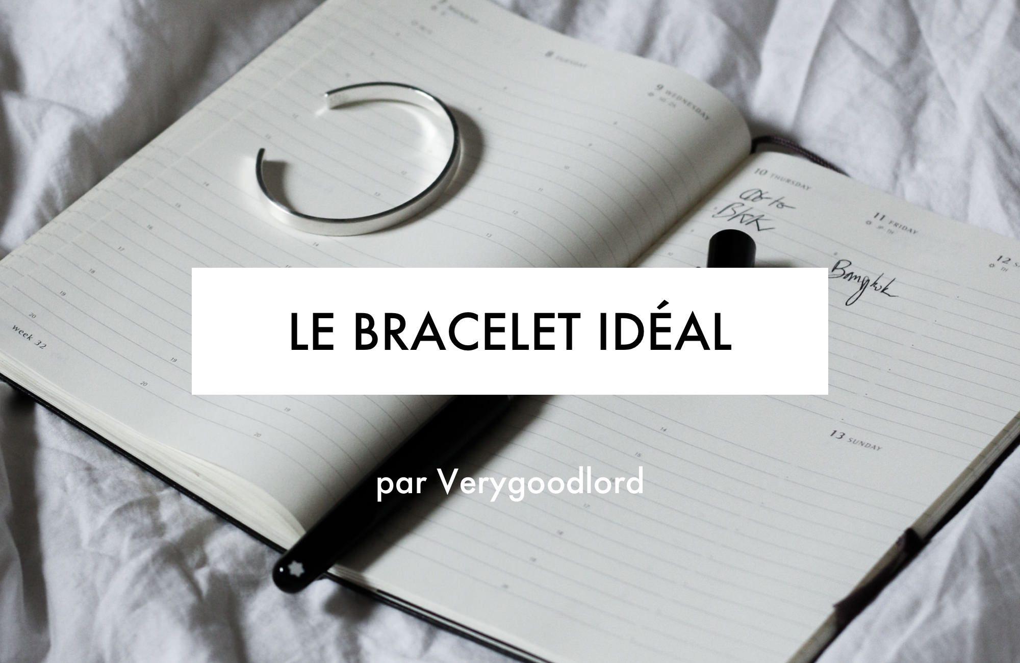 le bracelet ideal pour homme