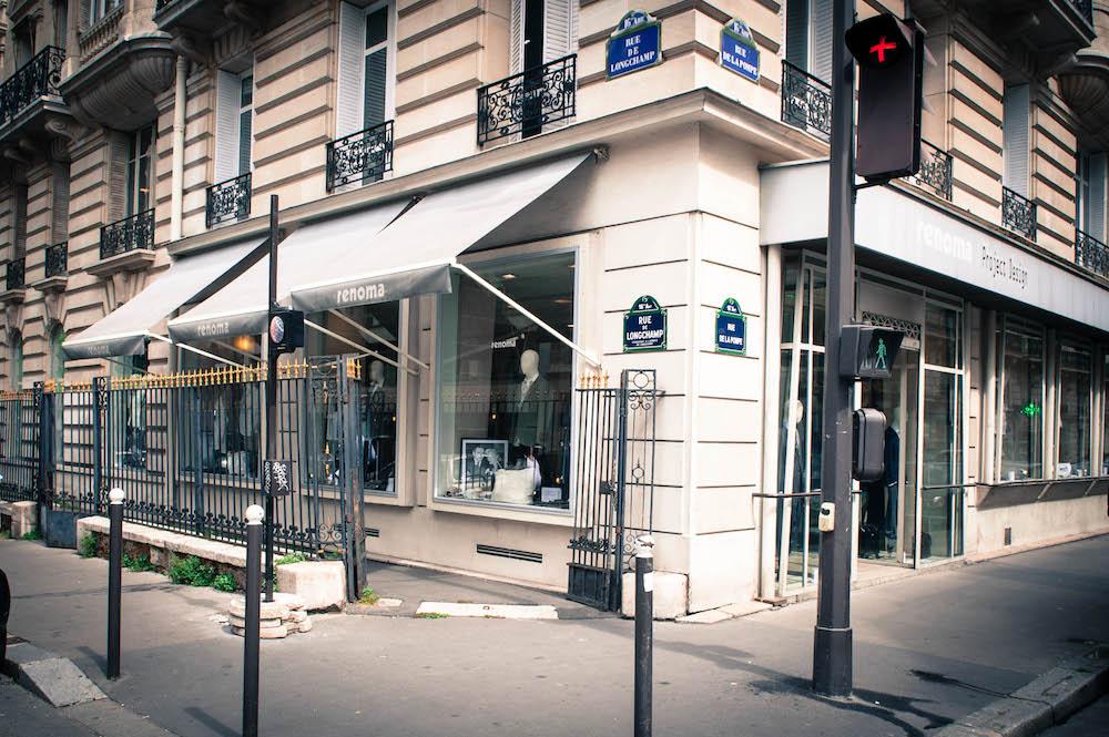 La boutique rue de la Pompe