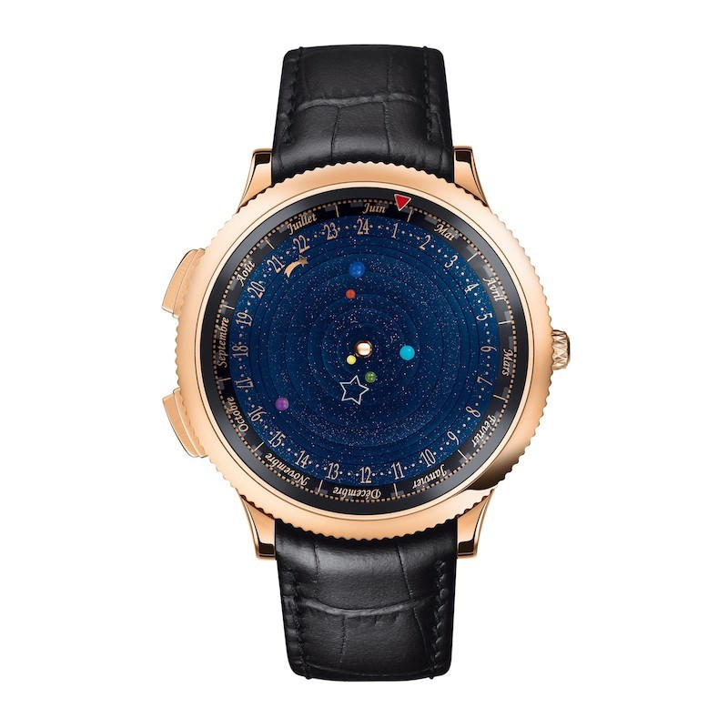 montre homme van-cleef-arpels-complications-poetique-midnight-planetarium-face-view