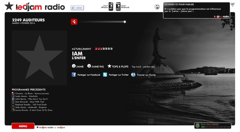 site internet le djam radio