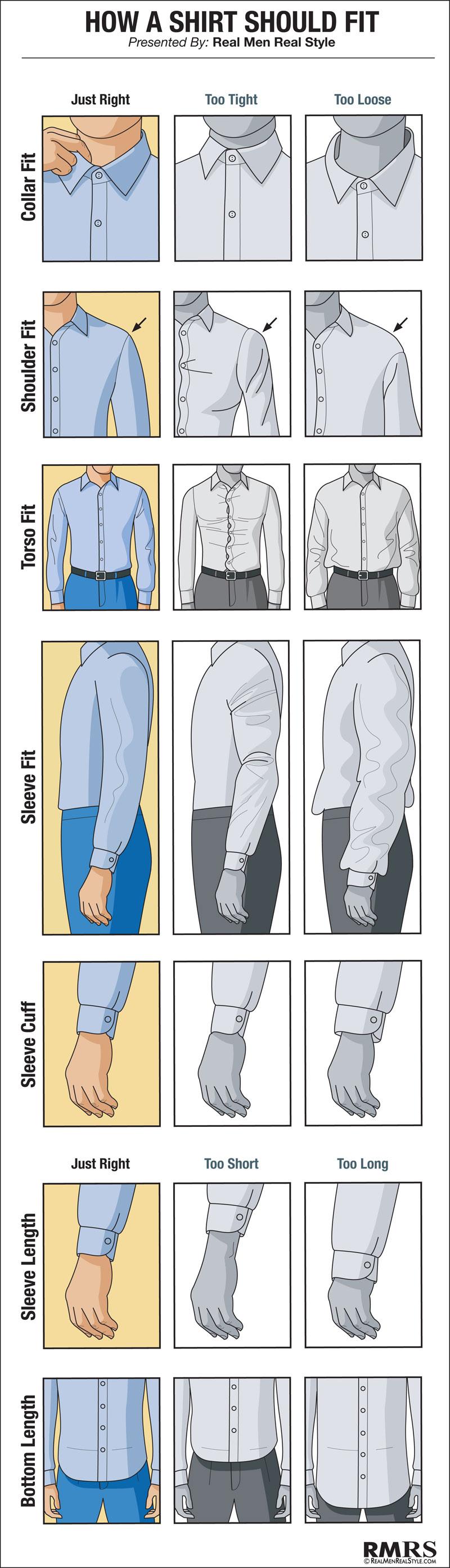Chemise coupe homme pour femme