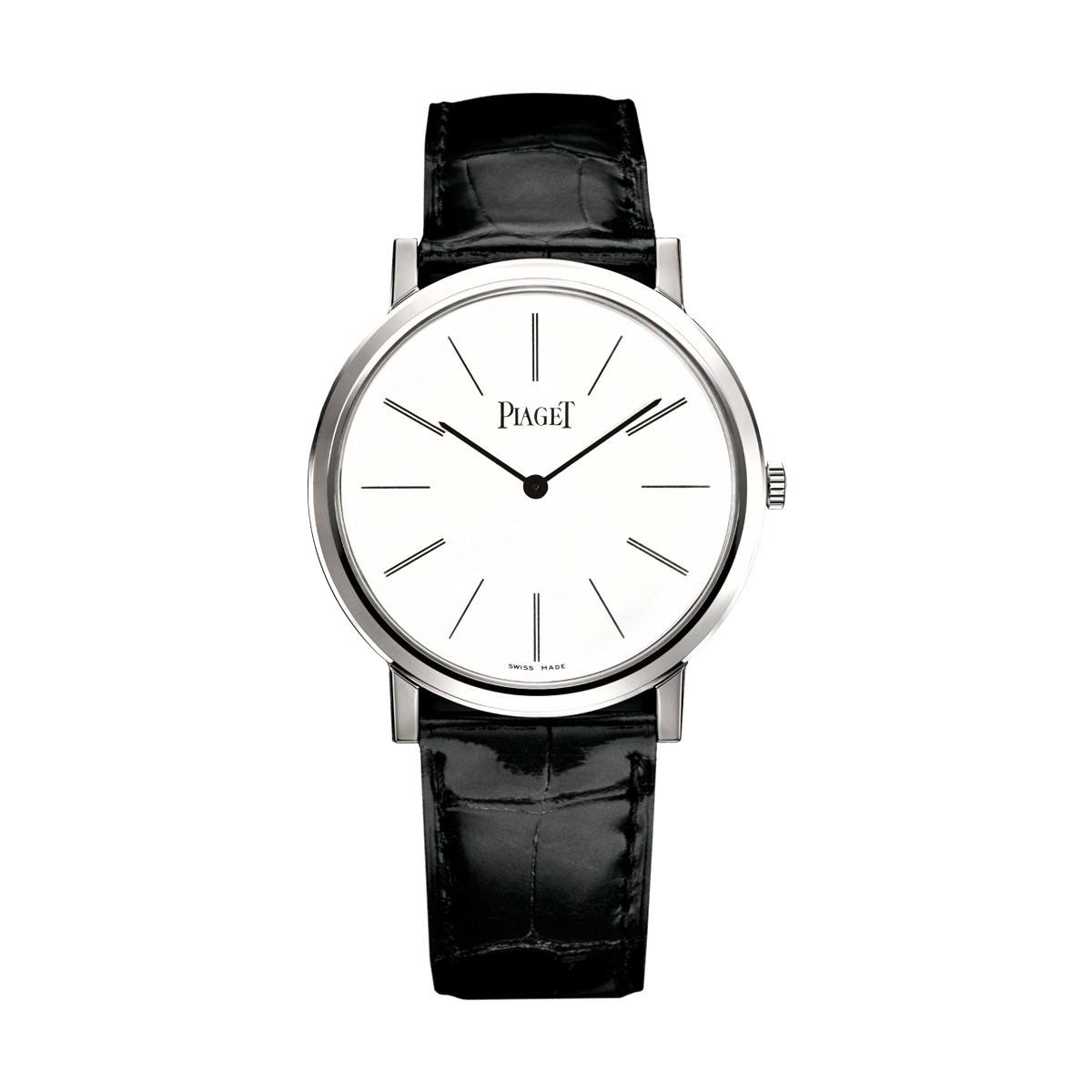 piaget altiplano or blanc mouvement manuel extra plat Top 10 des montres mythiques pour homme