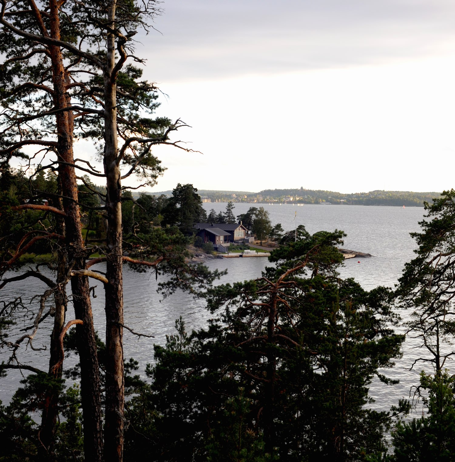 lancement VOLVO XC90 2014 Stockholm Baggensfjärden artipelag