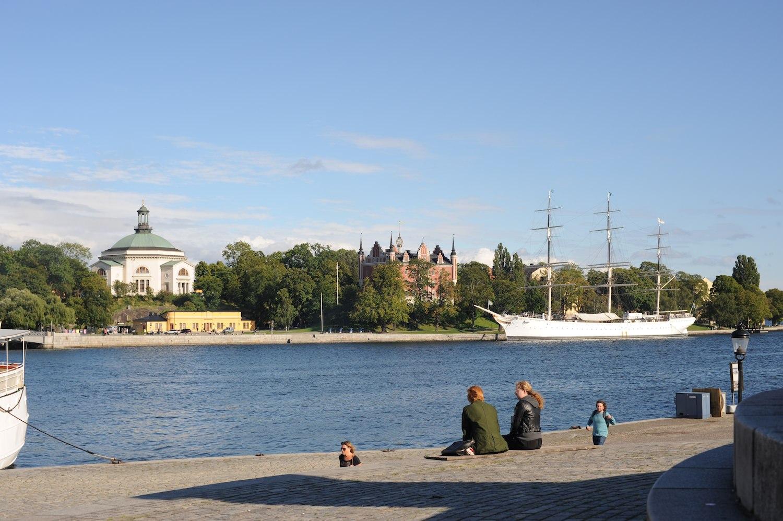 lancement VOLVO XC90 2014 Stockholm port
