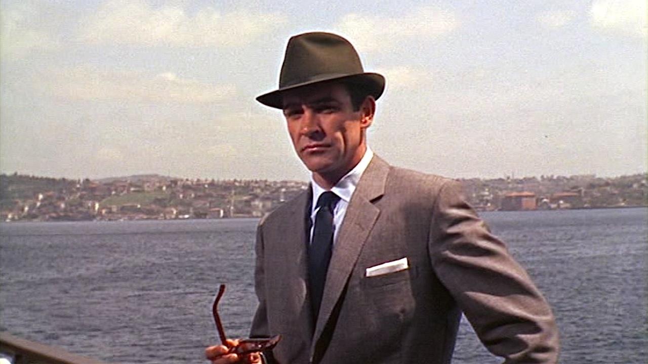 photo chapeau james bond trilby