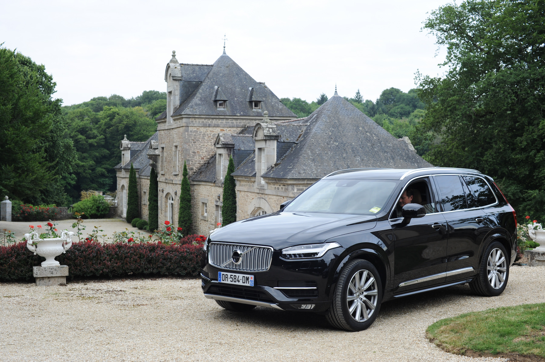 Nouveau volvo XC 90 2015 exterieur chateau