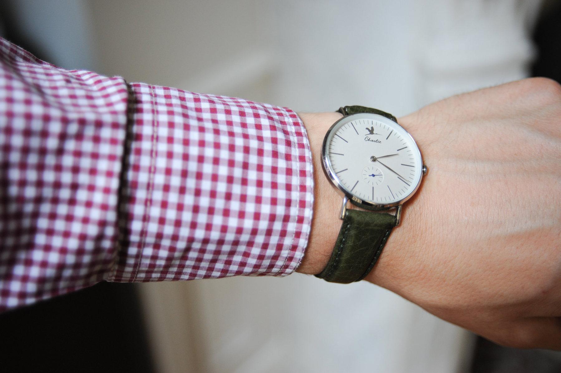 bracelet vert charlie watch
