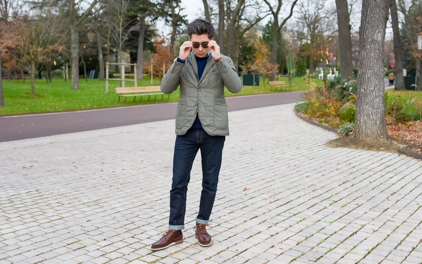 jean homme chic