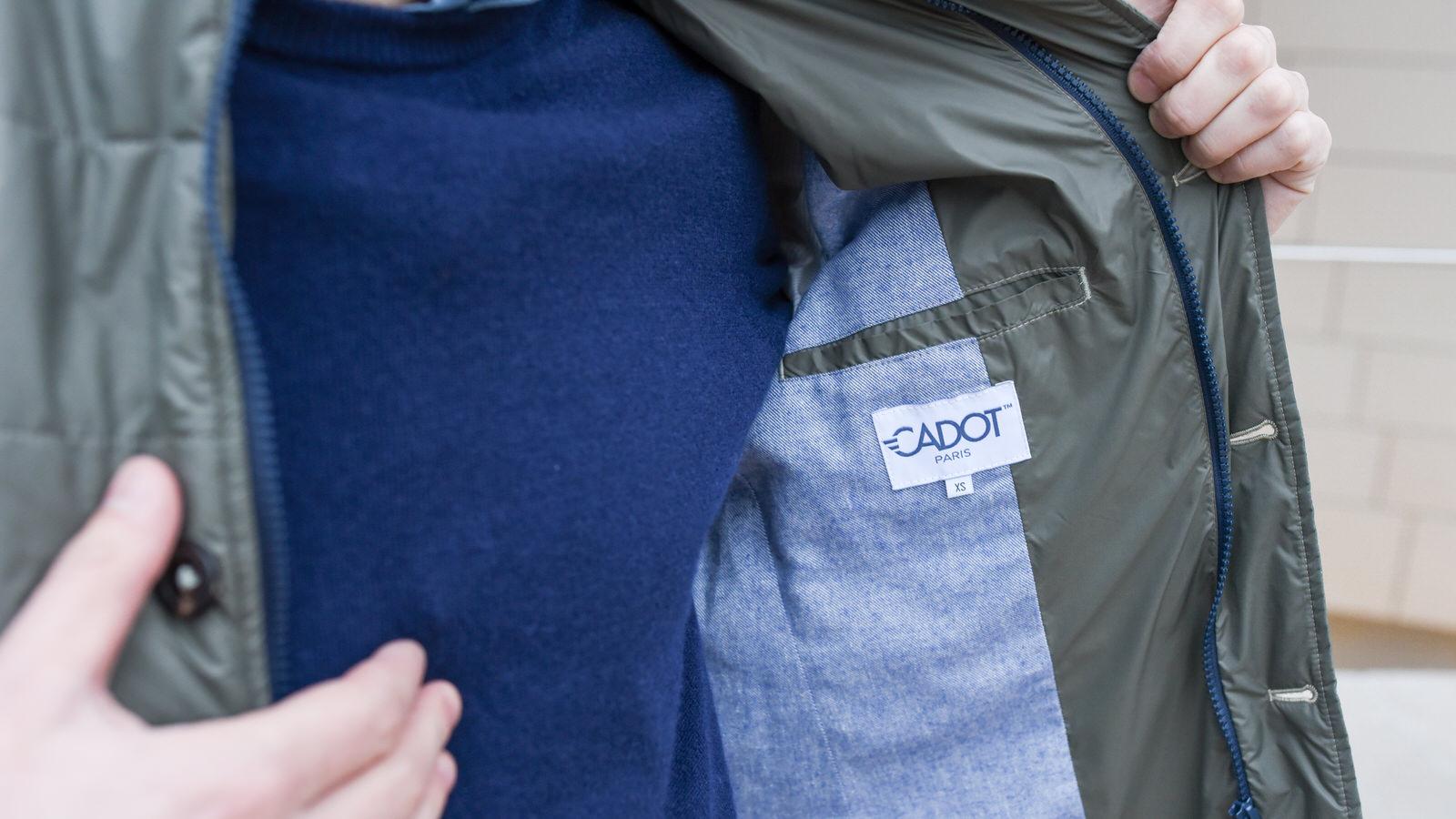 veste cadot légère