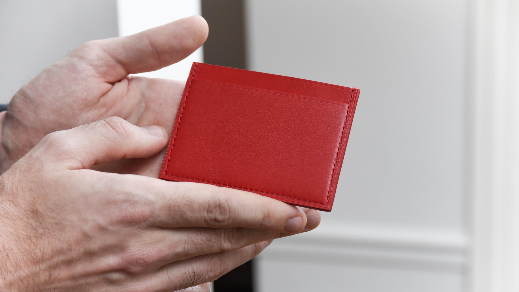 petit porte carte cuir