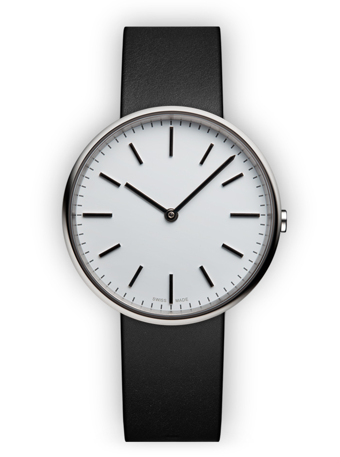montre uniform ware m37 cuir noir