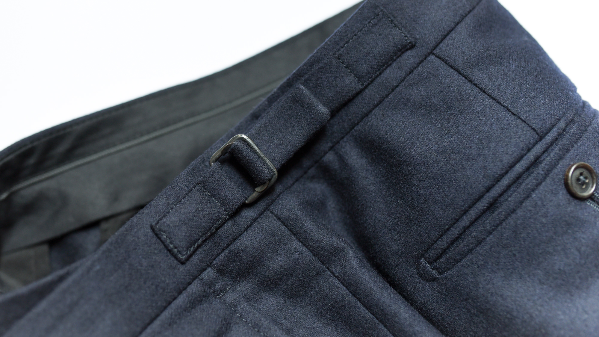 pattes de serrage pantalon costume