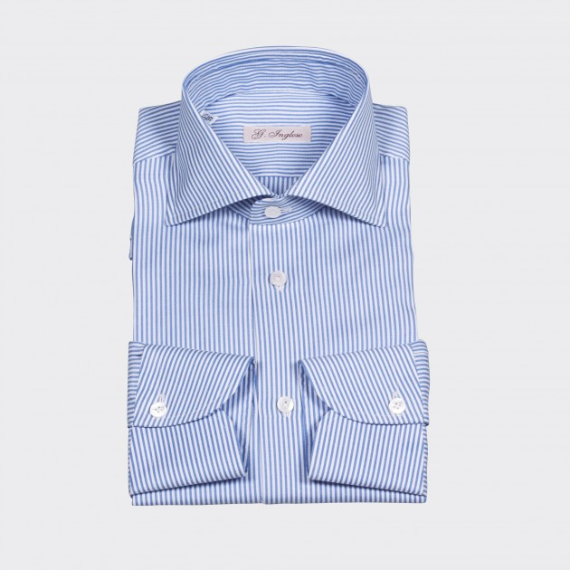 chemise-col-italien-rayures-bengal-bleu-ciel