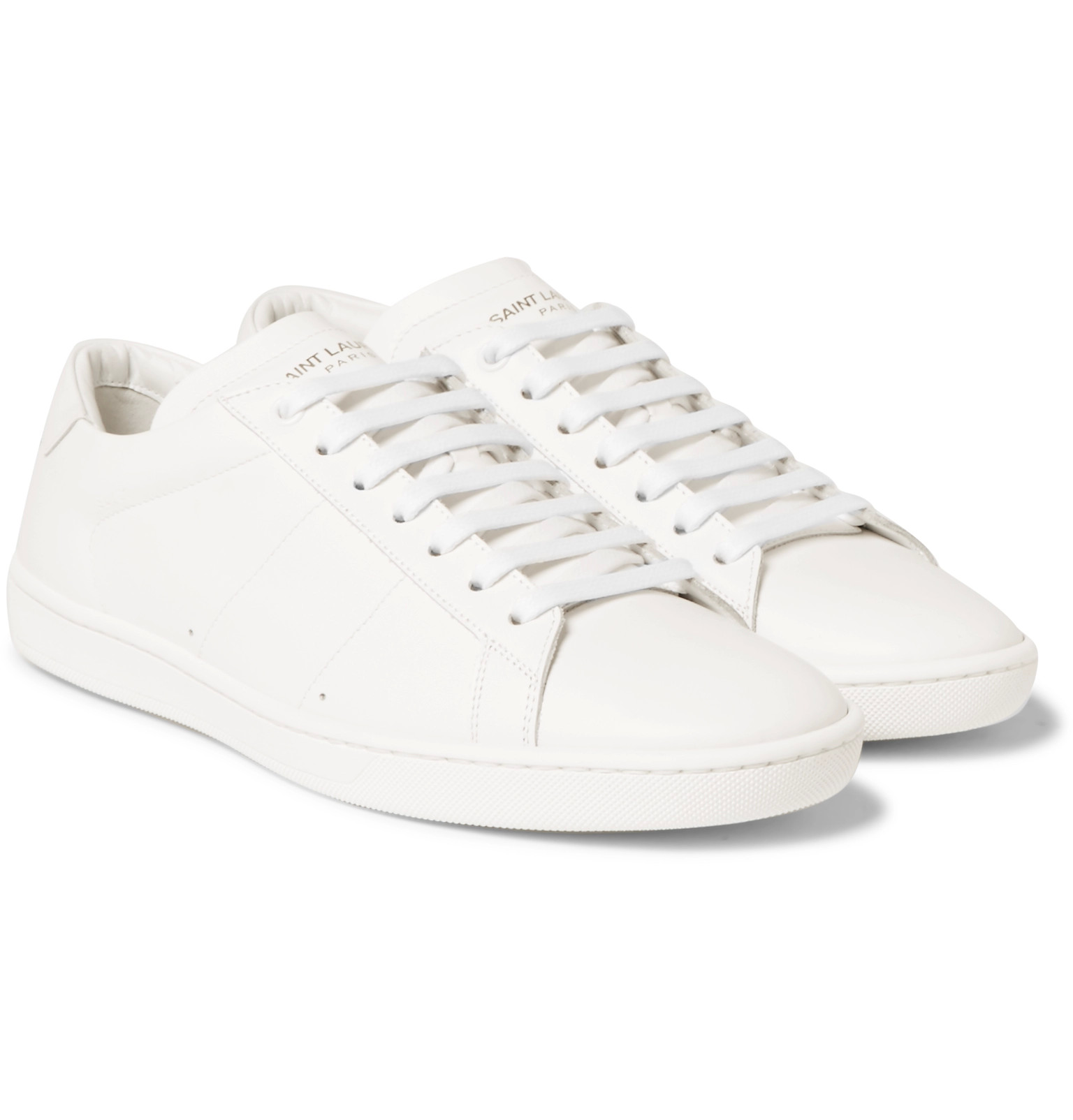 baskets blanches saint laurent