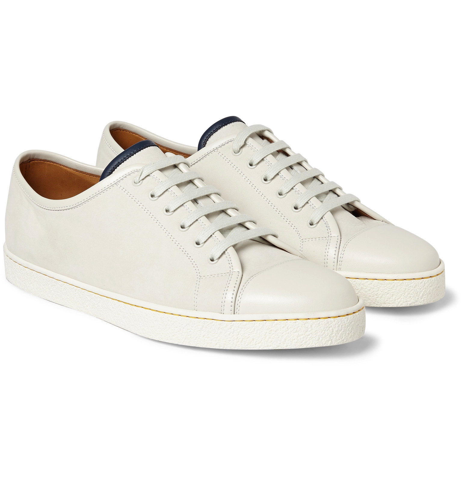 john lobb baskets blanches