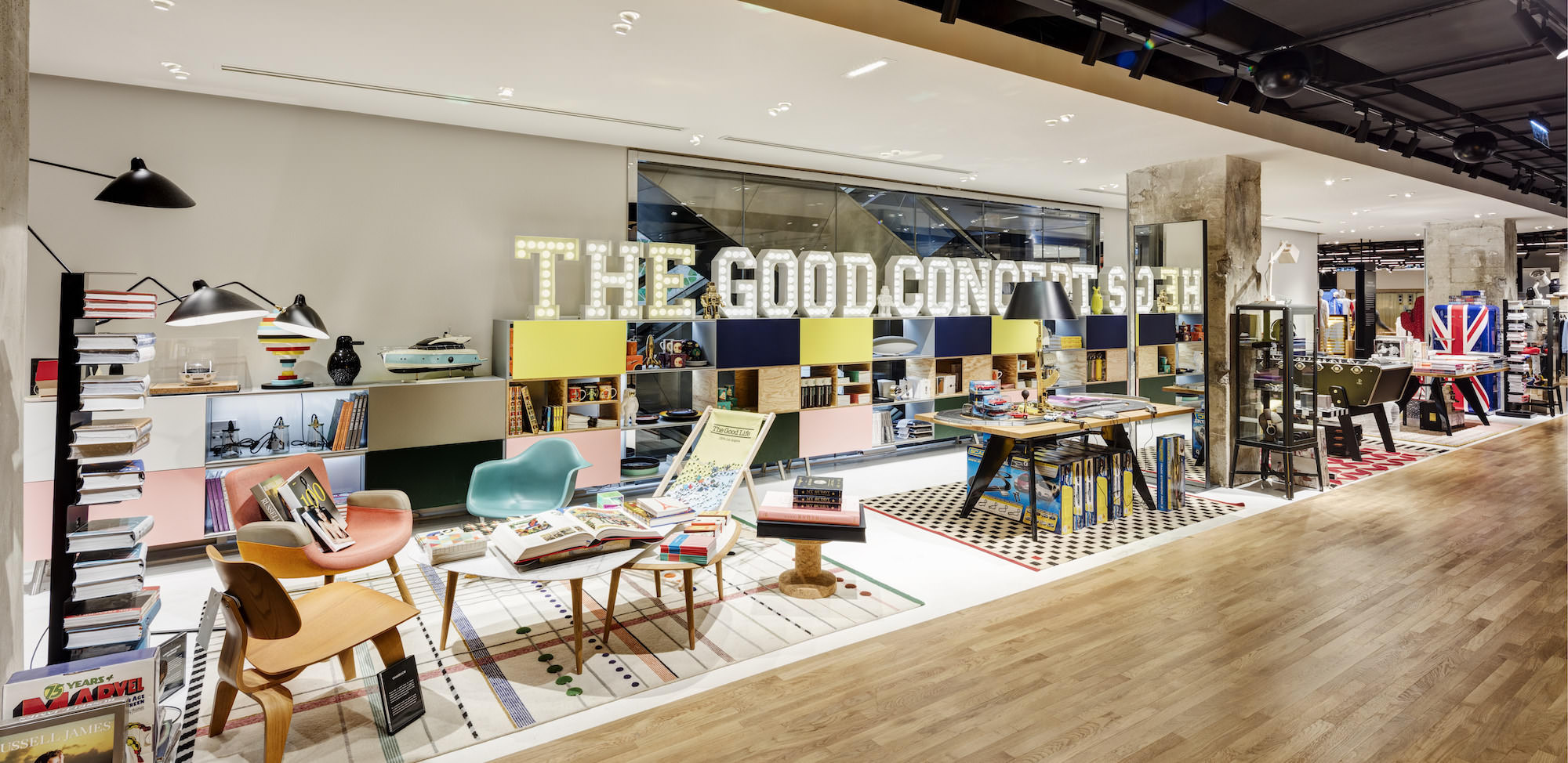 the good concept store printemps homme