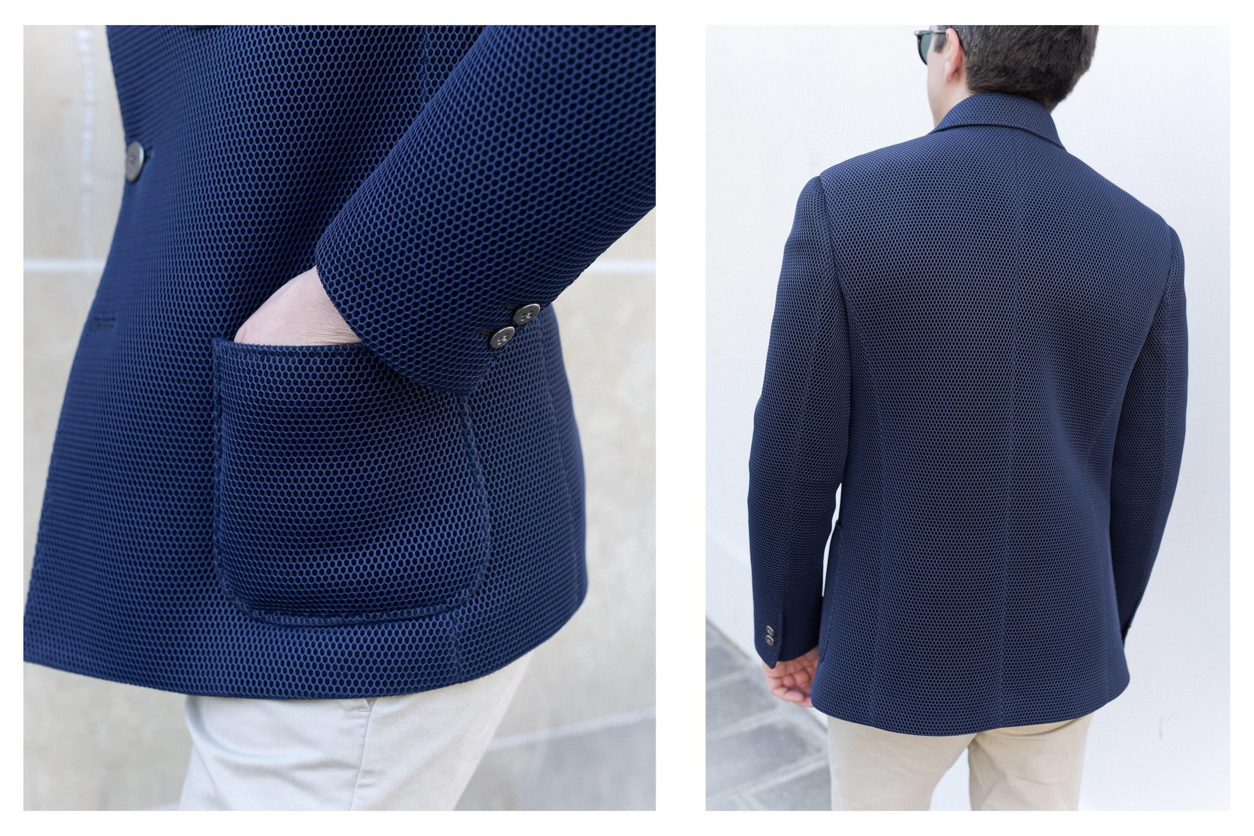 blazer eclectic porte details