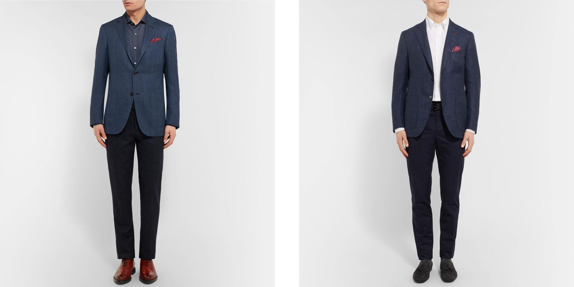 comment choisir et porter un blazer homme ou une veste homme. Black Bedroom Furniture Sets. Home Design Ideas