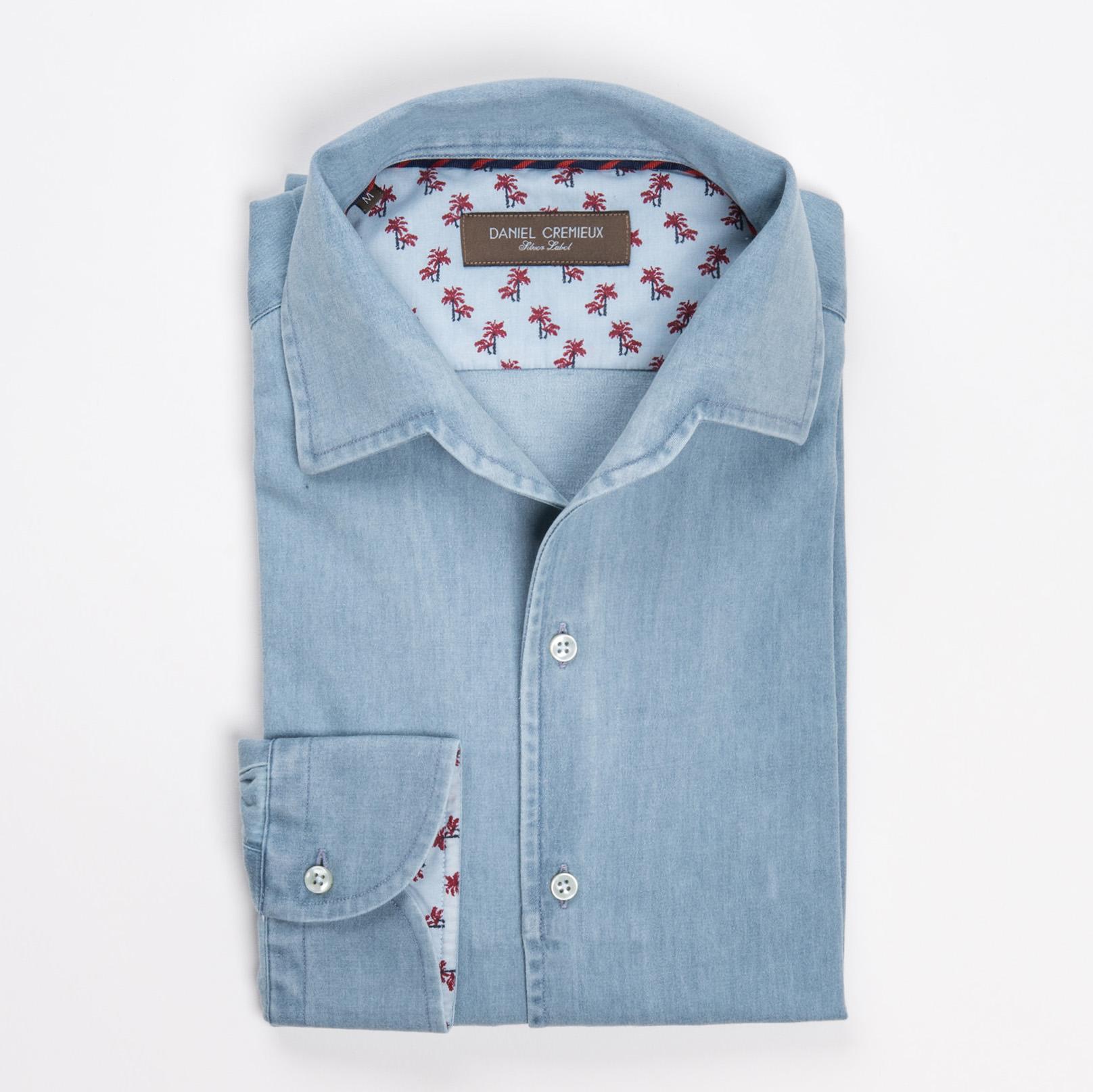 chemise newman cremieux