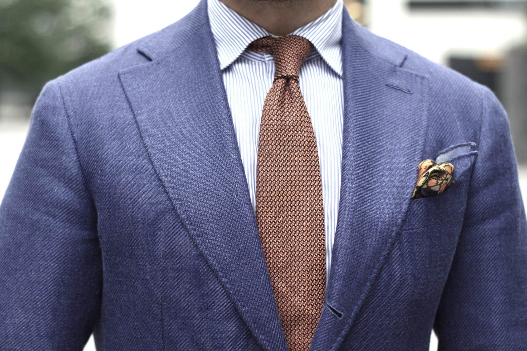 choisir largeur cravate