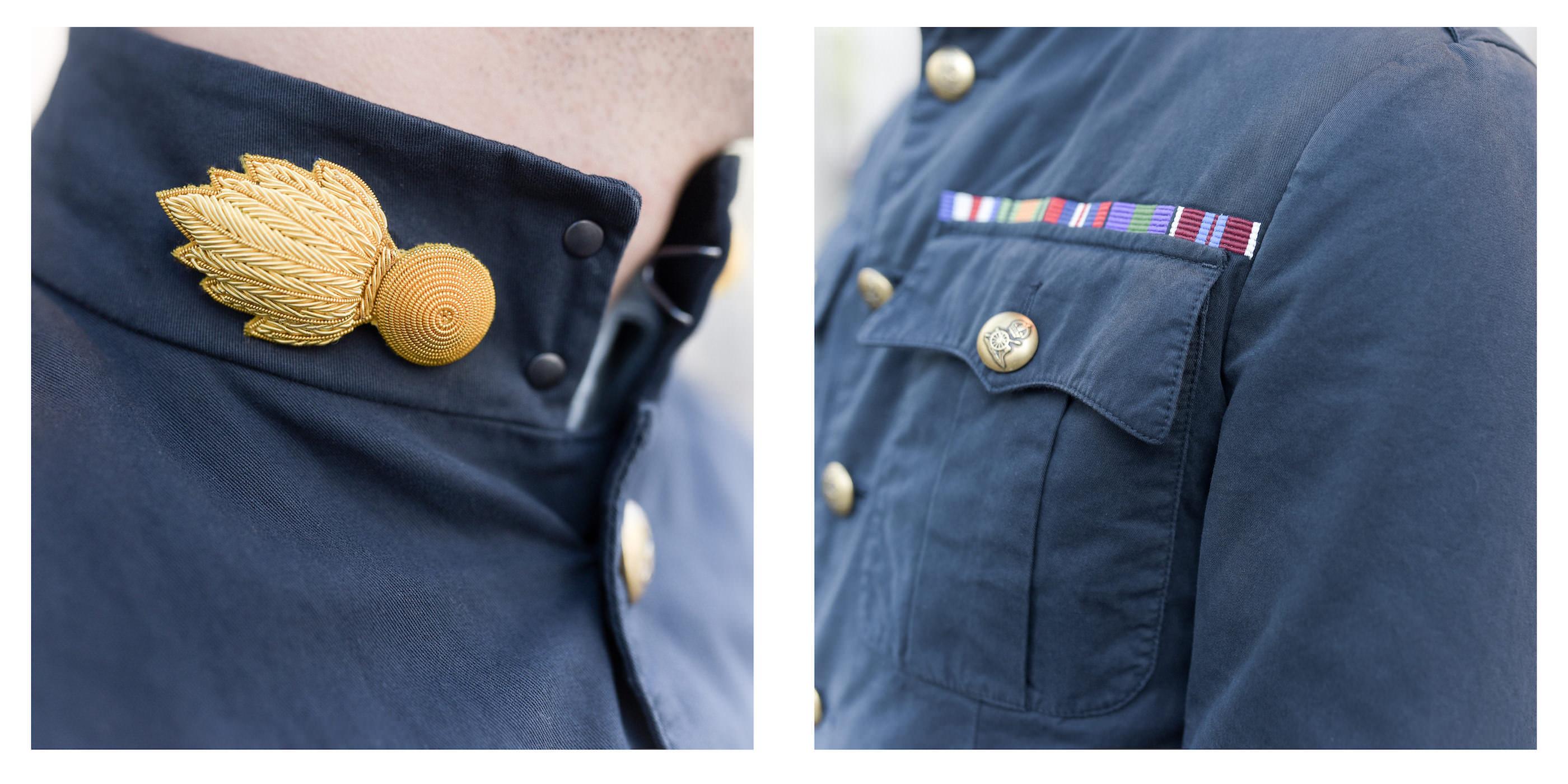 lieutenant jacket details