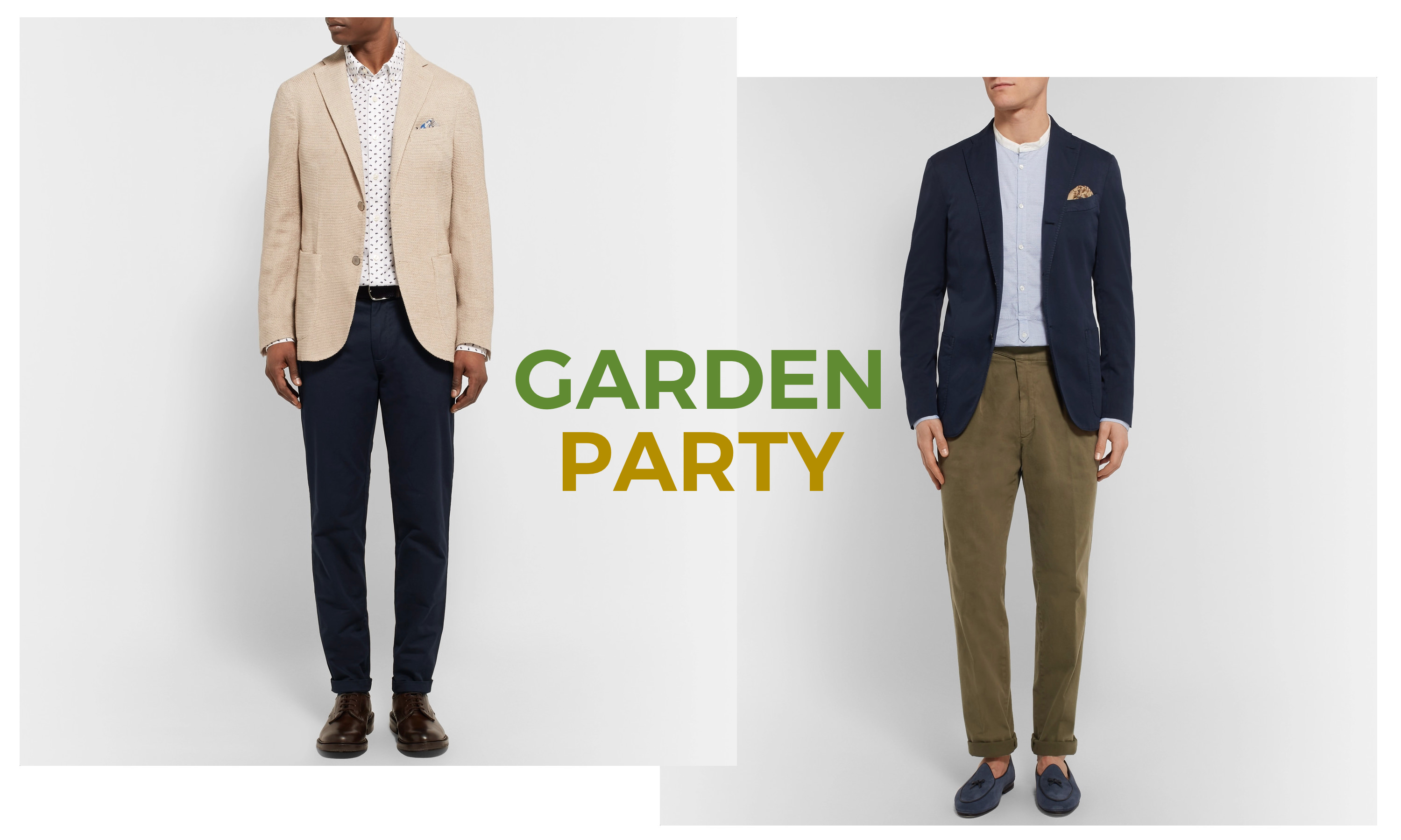 look garden party homme