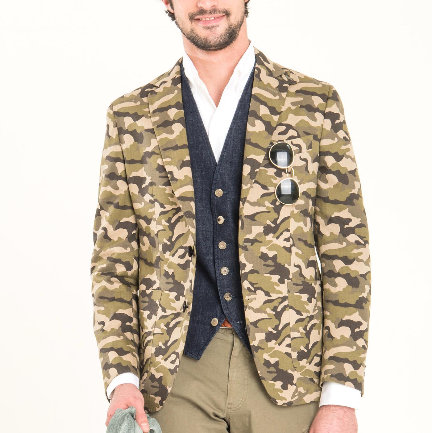 veste camouflage cremieux