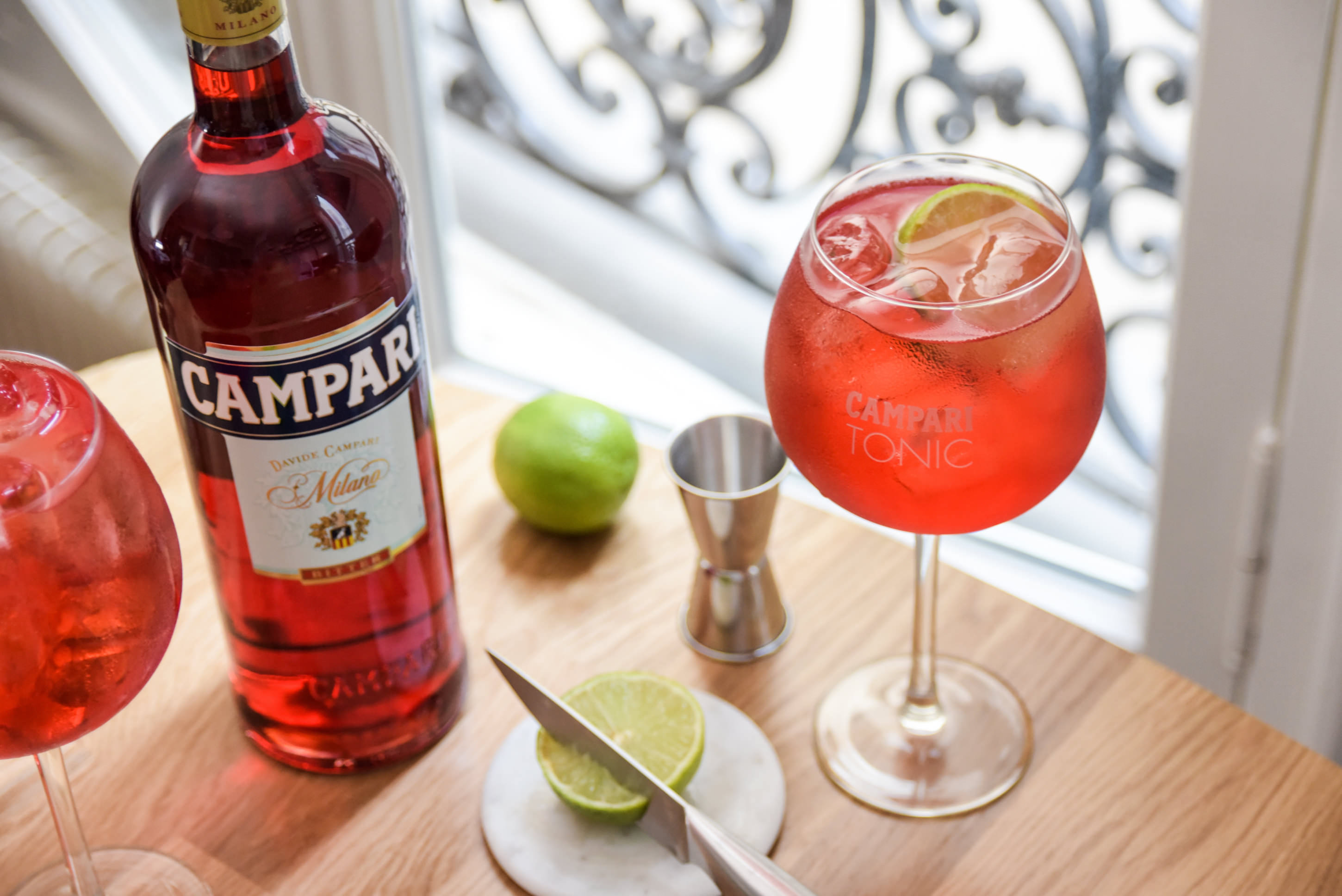 cocktail Campari Tonic