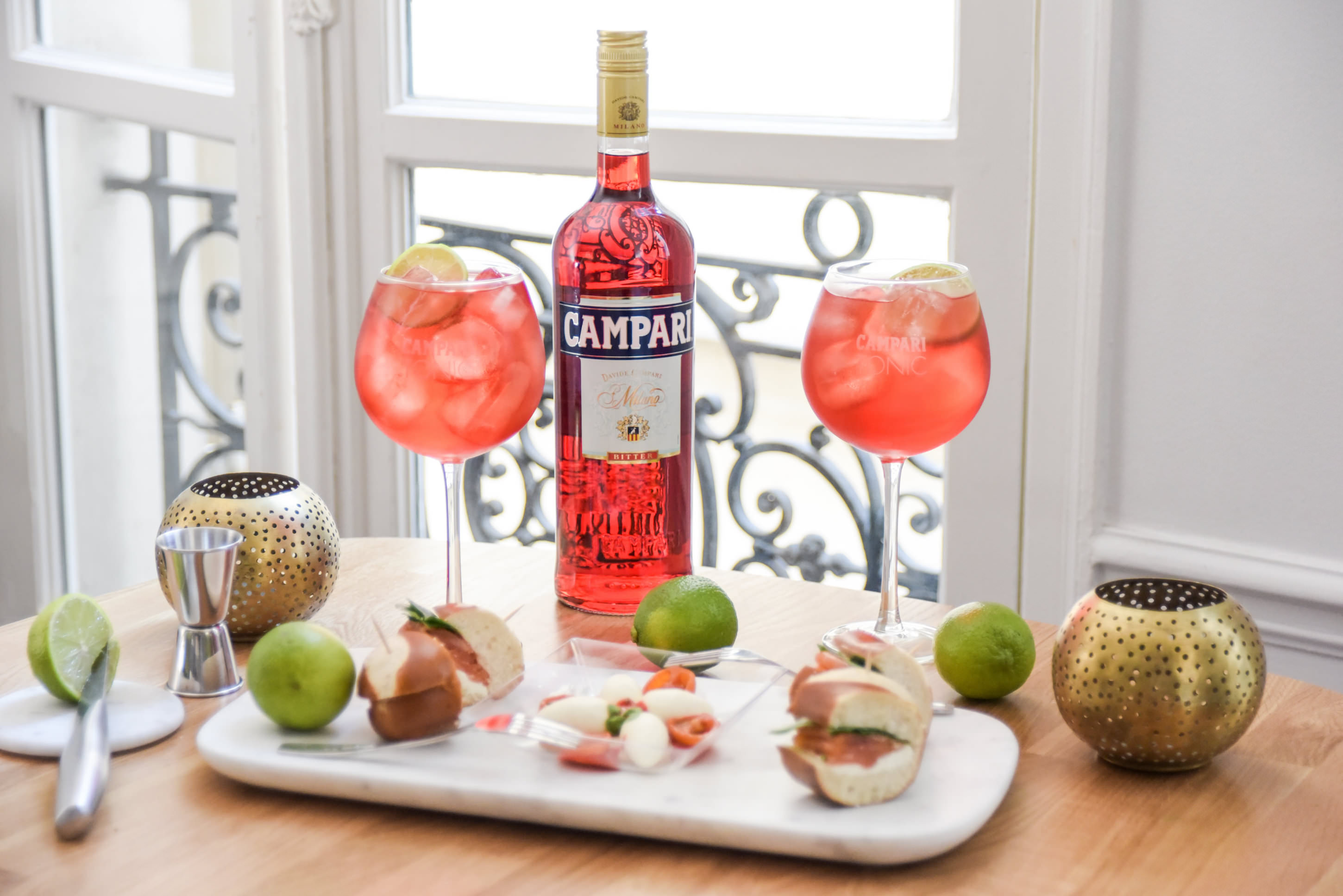 recette cocktail apero campari tonic