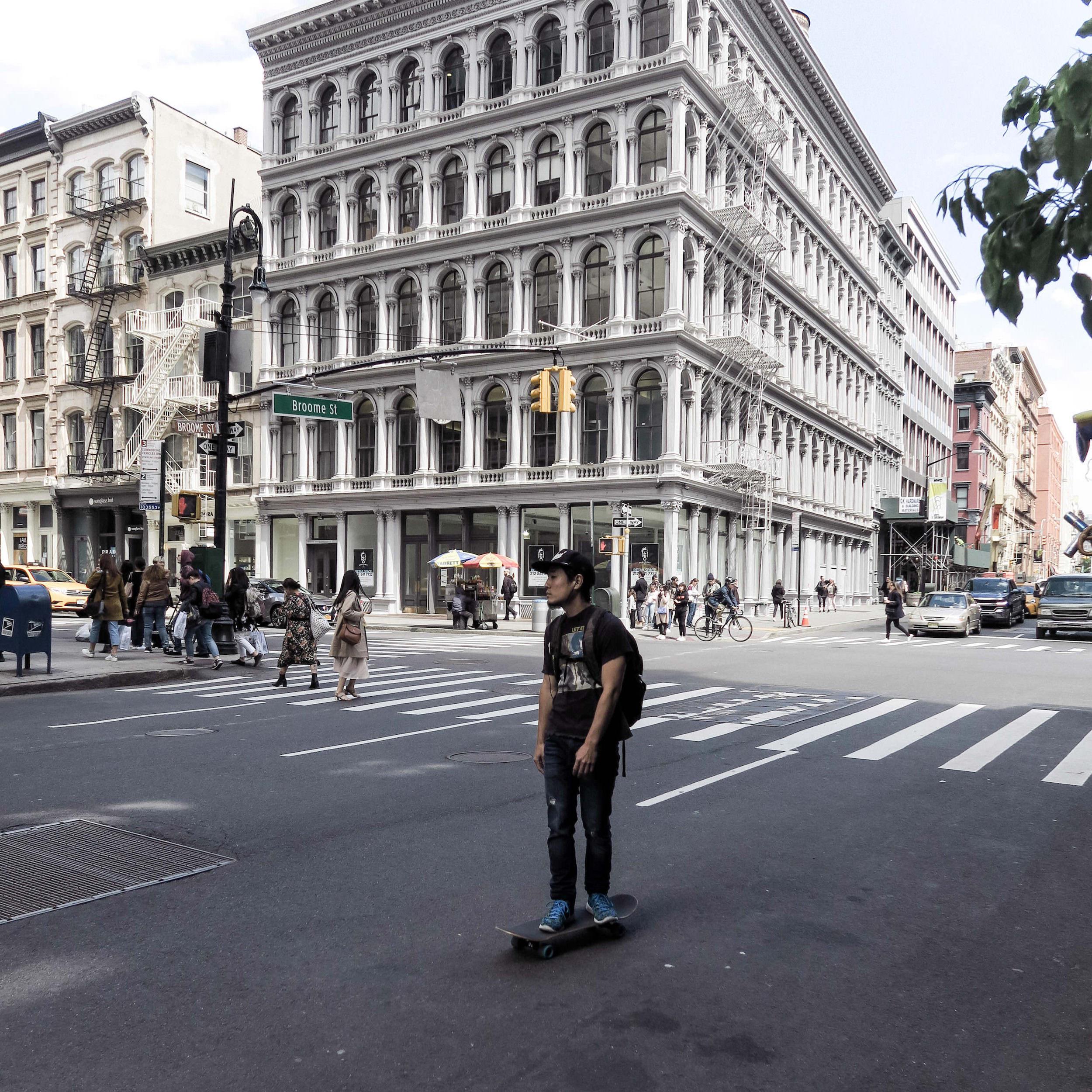 skater new york