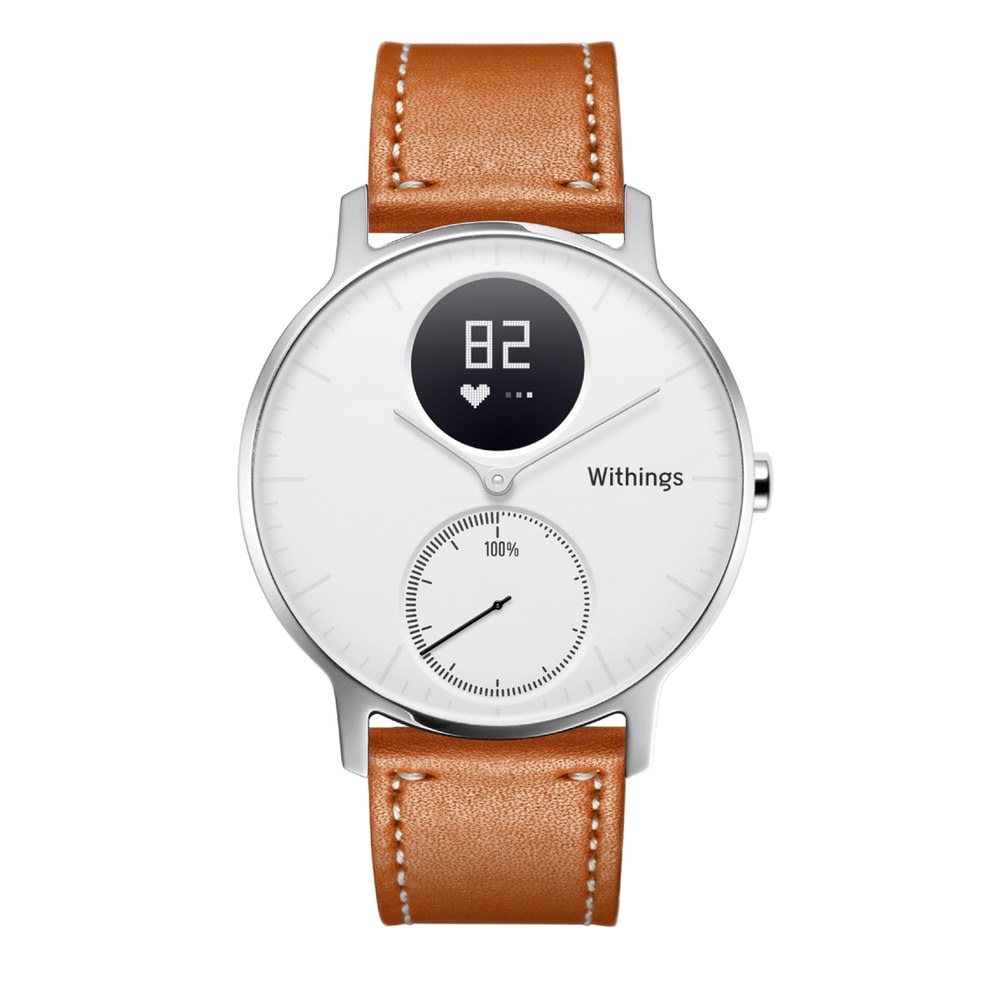withings steel hr cuir montre connectee
