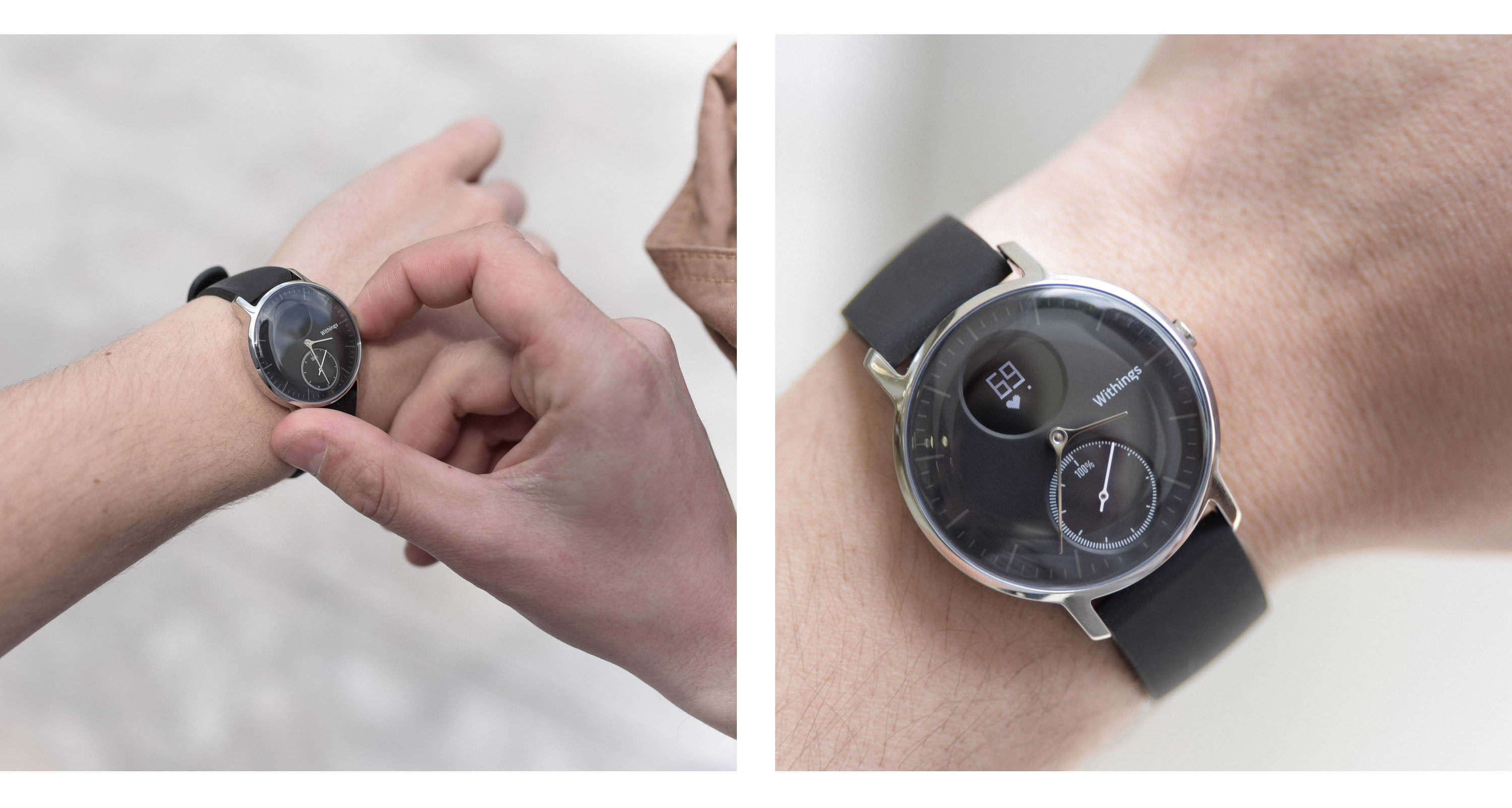 withings steel hr frequence cardiaque