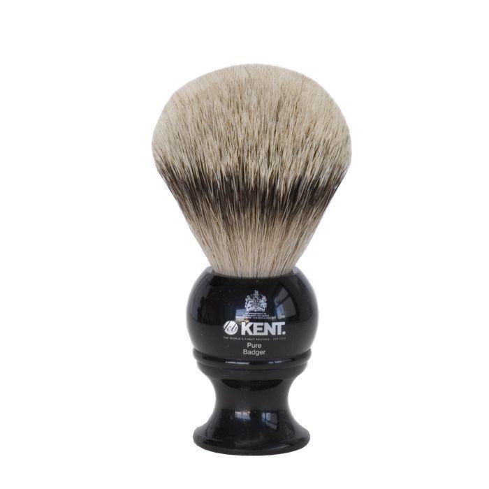 blaireau-de-rasage-medium-pur-argente-resine-noire-kent-blk4-ig-1048